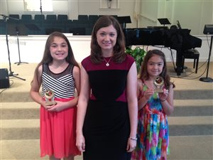 Mrs. Belinda with Salena & Isabella at Spring Recital 2015